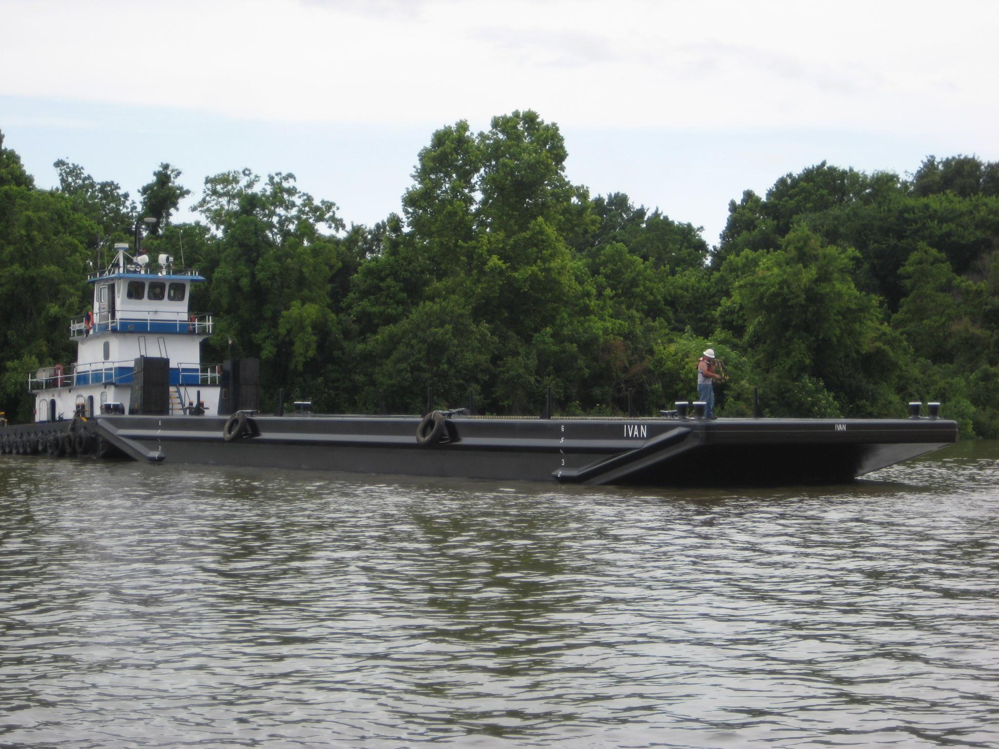 120' x 30' Deck Barge