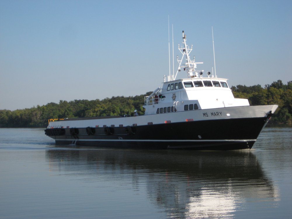 170ft Aluminum Crew Supply Vessel