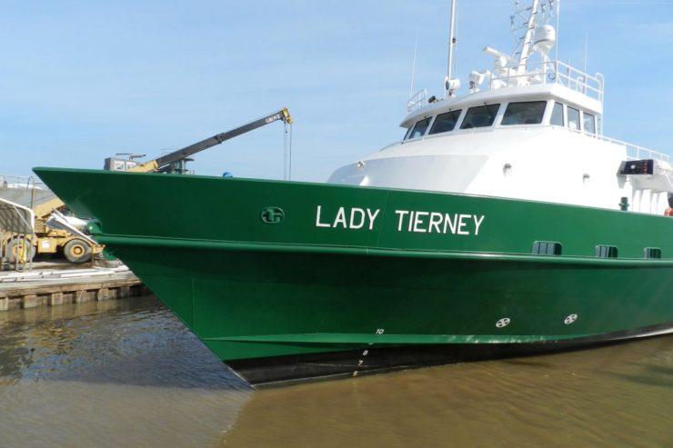 205' x 34' Fast Aluminum Crewboat
