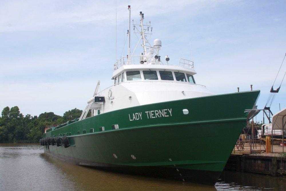 205' x 34' Aluminum Crew Supply Vessel