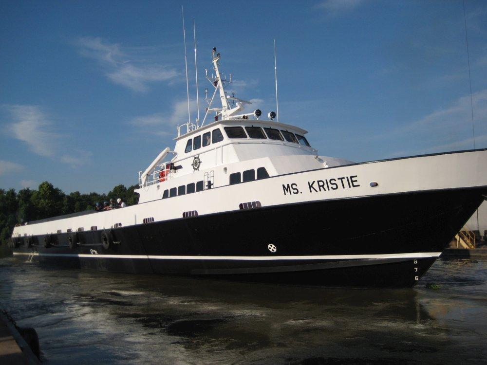 160' x 30' Fast Aluminum Crewboat