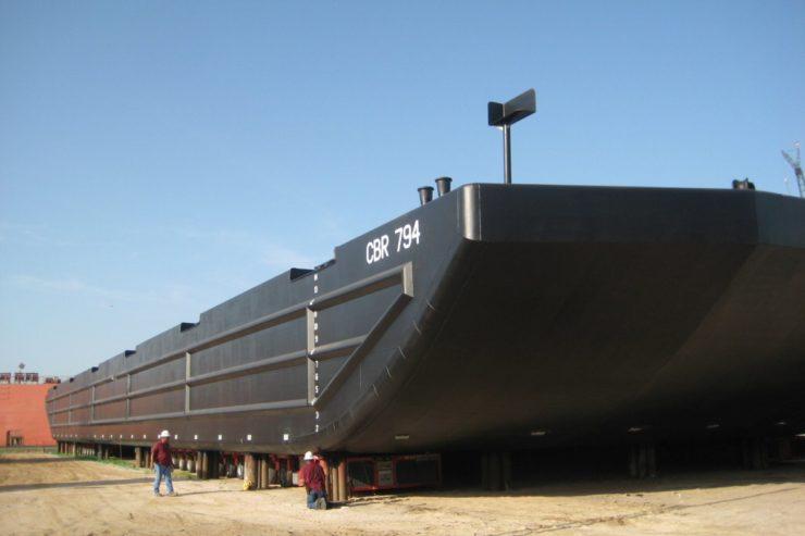 Steel Deck Barge