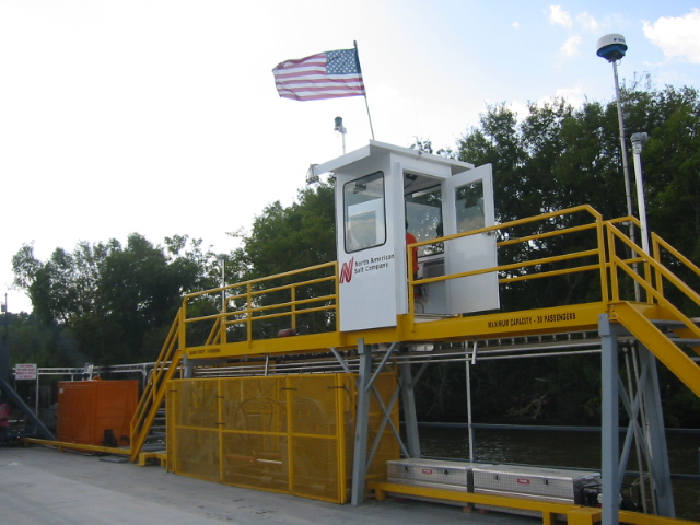 80' X 30' CABLE FERRY