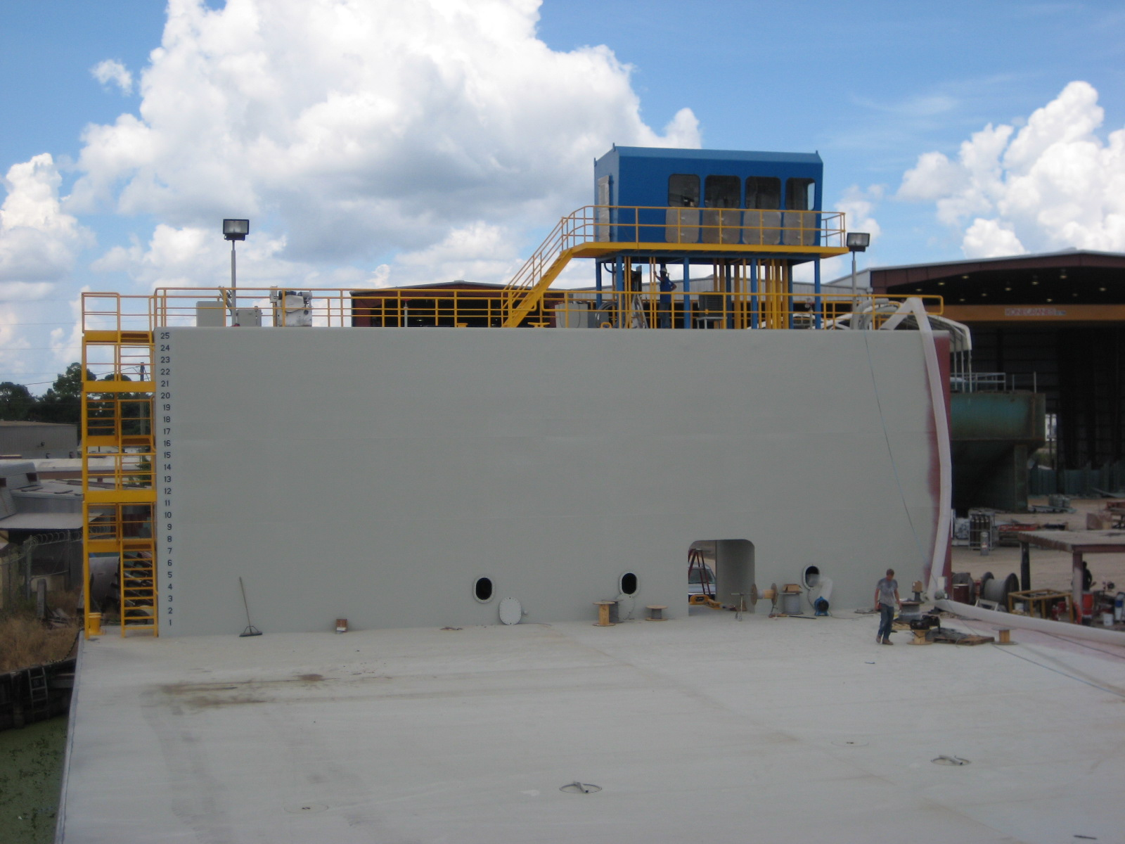 240' x 160' Steel Floating Dry Dock