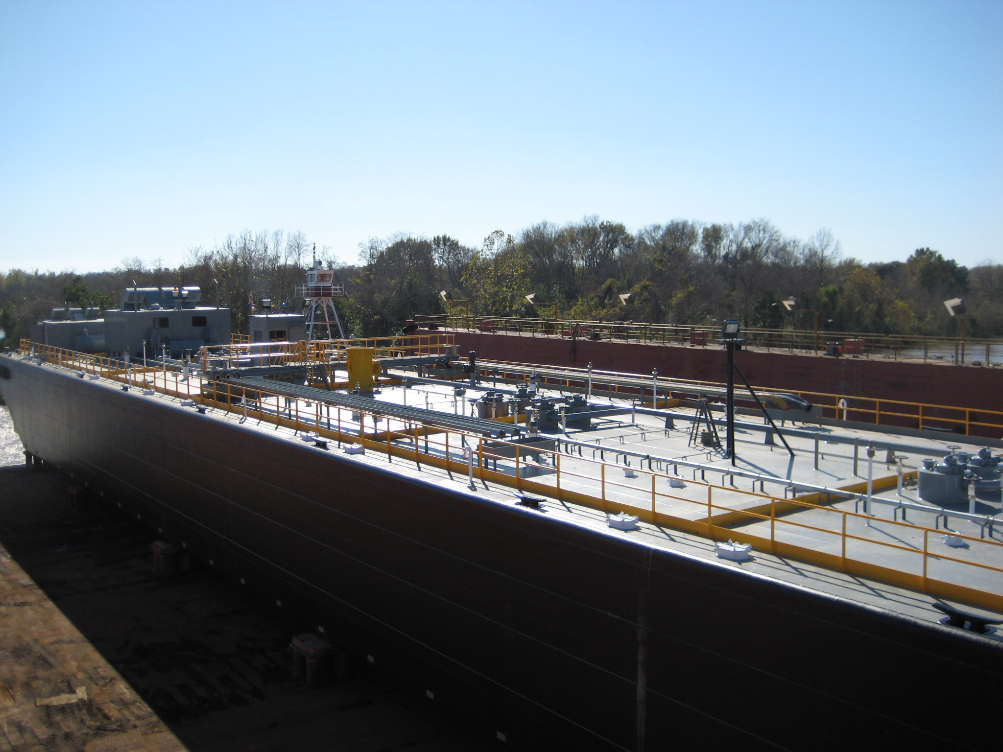 300' X 54' DOUBLE HULL TANK BARGE