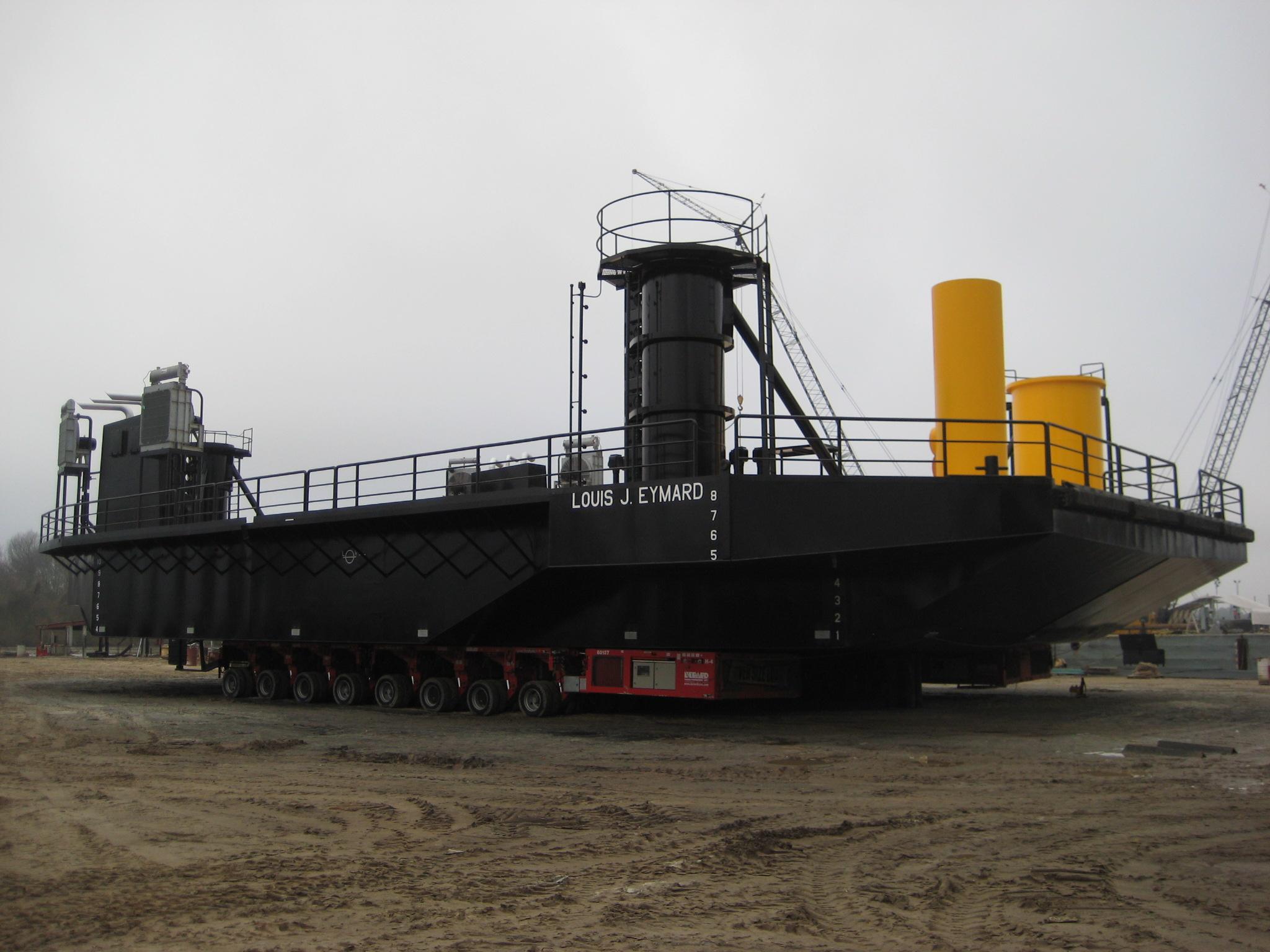 Class 175 Liftboat Hull