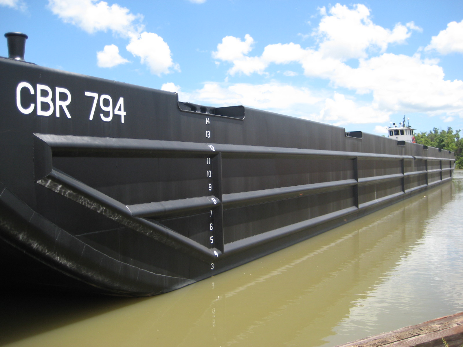 260' X 72' STEEL DECK BARGE