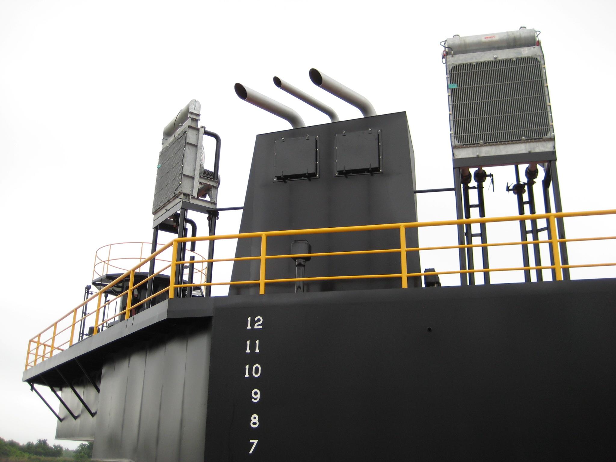 Class 200 Liftboat Hull