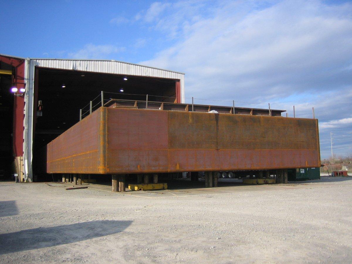 260'-275' x 54' Open Hopper Barges