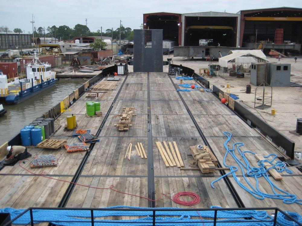 180' x 50' ATB Deck Barge