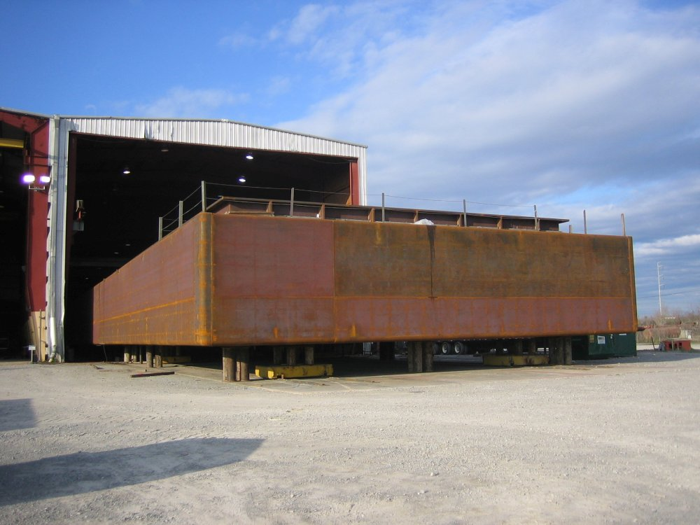 Open Hopper Barge