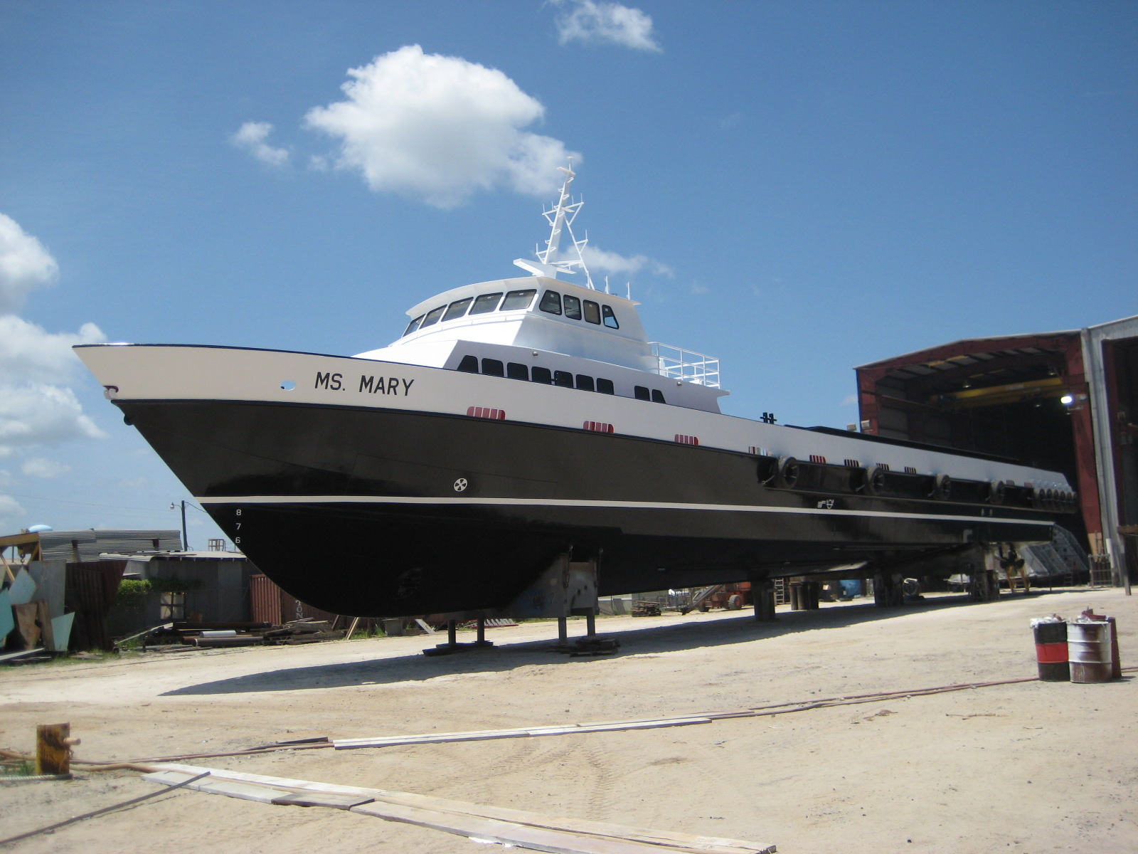 Supply Vessel 170' x 30'